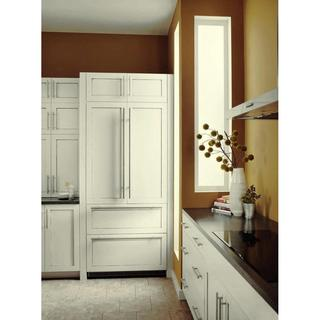 Liebherr Premium Plus Series 36 -inch Fully Integrated Panel Ready French Door Refrigerator