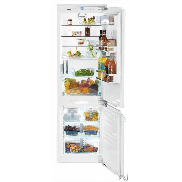 Liebherr Premium Plus Series 22 -inch Fully Integrated Bottom-freezer Refrigerator