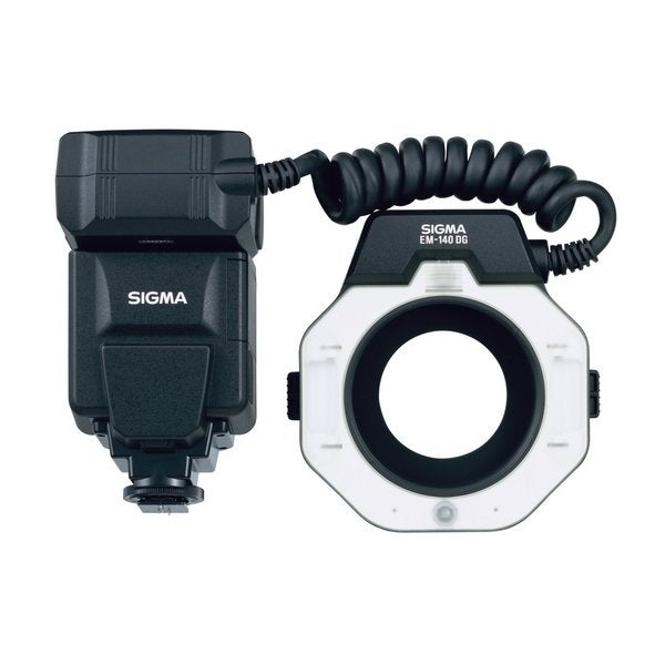 Sigma EM-140 DG Macro Ringlight Flash for Canon EOS