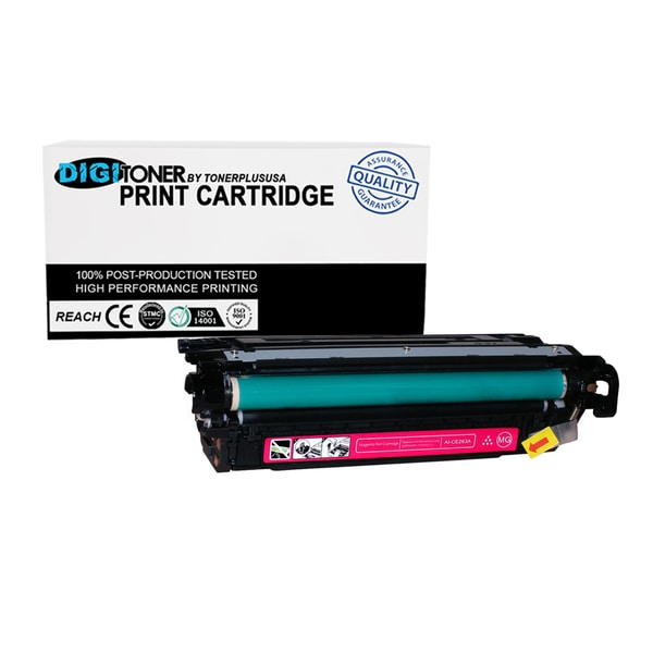 TonerPlusUSA 1Pk Compatible HP LaserJet 647A CE263A MAGENTA Toner Cartridge For CP4025 CP4525 CM4540