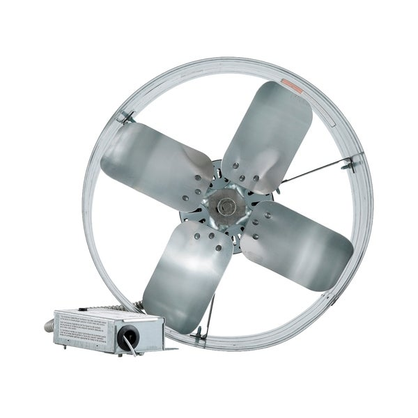 iLIVING Automatic Gable Mount Attic Ventilator Fan with Adjustable Thermostat with 3.15 Amps 17529893