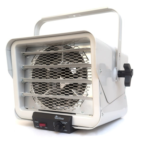 Dr. Infrared Heater 3000-watt/ 6000-watt DR-966 240-Volt Hardwired Shop Garage Commercial Heater