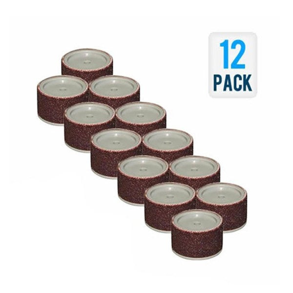 PediPaws Replacement Filing Heads (Set of 12)