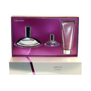 Calvin Klein Euphoria Women's 3-piece Gift Set