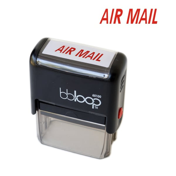 Air Mail Rectangular Stamp