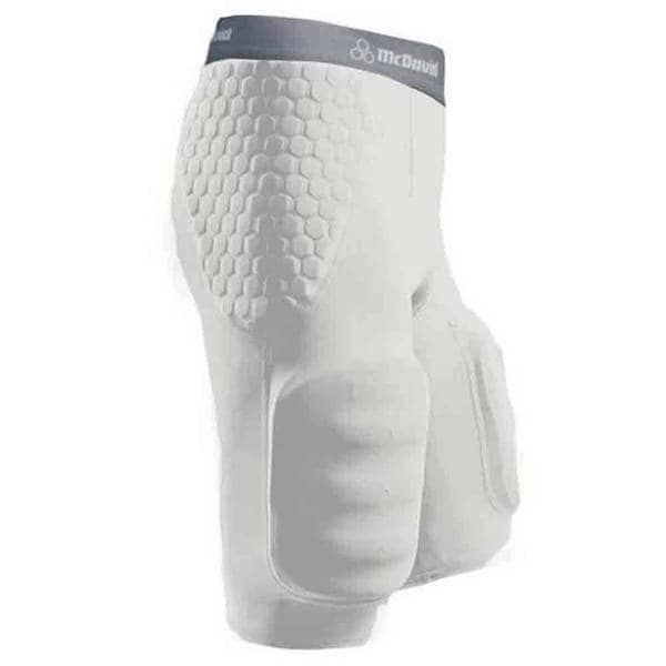 Mcdavid Classic 7555 Hexpad Girdle With Hardshell Thigh Guard White XXX-Large