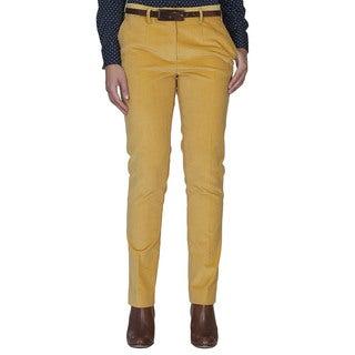 Robert Talbott Yellow Corduroy Pants