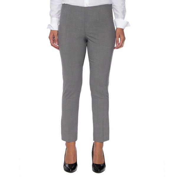 Robert Talbott Grey Capri Pants