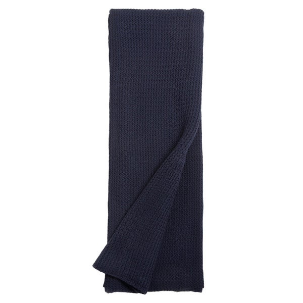Drake Indigo Knitted Throw