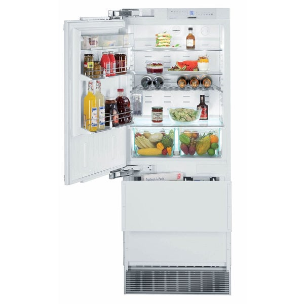 Liebherr 30 inch Fully Integrated Refrigerator with Double Freezer Drawers