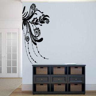 Corner Flourish Large Wall Decal