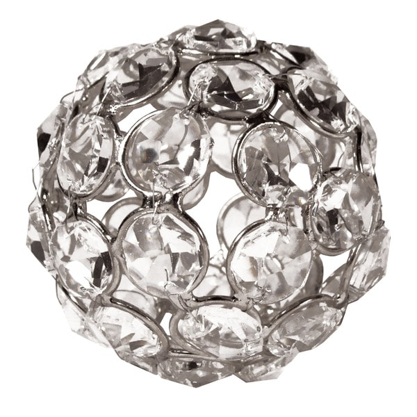 Elegance Sparkle Ornament Crystal Beaded Ball