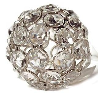 Elegance Sparkle Ornament Crystal Beaded Ball