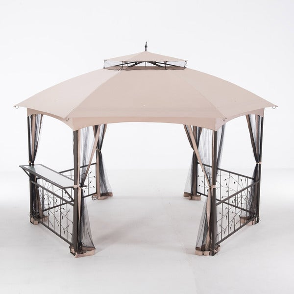 Paolo 12' x 14' Hexagonal Gazebo