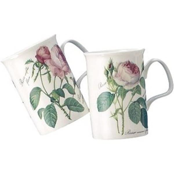 Roy Kirkham Lancaster Mug - Redoute Rose Set of 6 17540327
