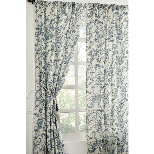Kiera Cotton 96-Inch Curtain Panel