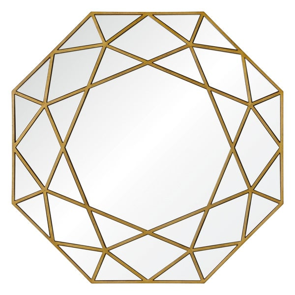 Ren Wil Cats Cradle Framed Octagonal Mirror