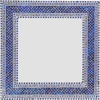 Ren Wil Kilim Framed Square Mirror
