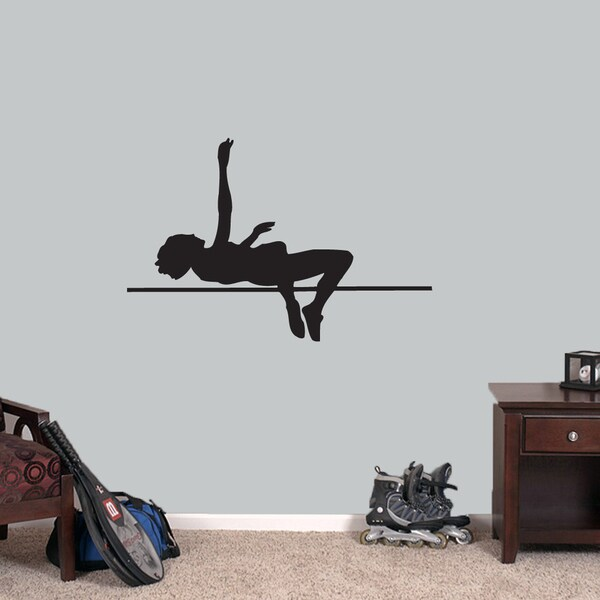 High Jumper Large Wall Decal