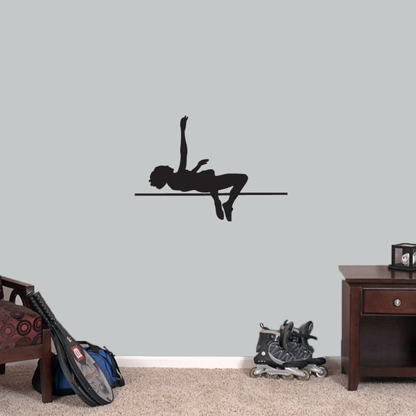 High Jumper Medium Wall Decal