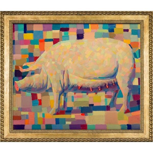 Alexey Rubanov 'Nationale Ideas' Framed Fine Art Print