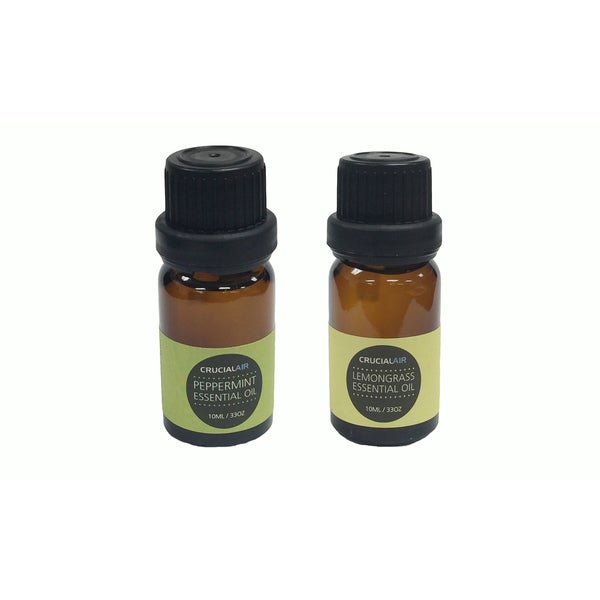 Sweet Peppermint and Soothing Lemongrass Infused Essential Oil for Aromatherapy