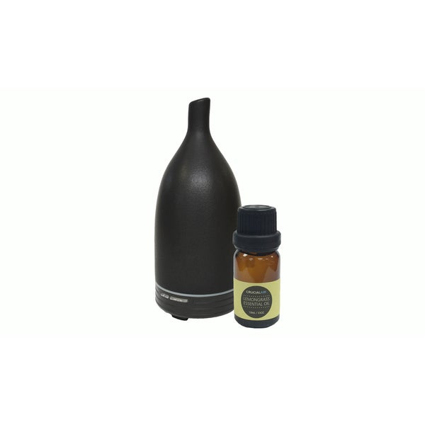 Aromatherapy Diffuser and Lemongrass Essential Oill