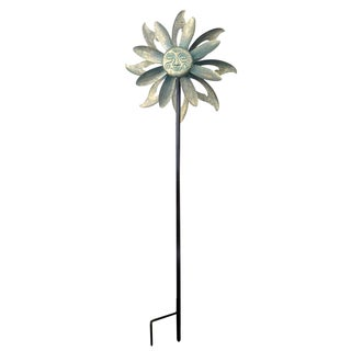 Peaktop Outdoor Floral Kinetic Windmill