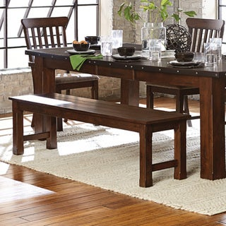 Norwood Rustic 66-inch Dining Bench