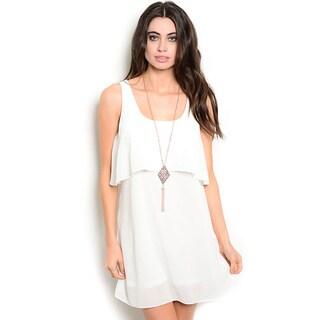 Shop the Trends Women's Sleeveless Woven Dress