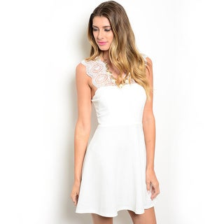 Shop the Trends Women's Sleeveless A-Line Fit And Flare Dress