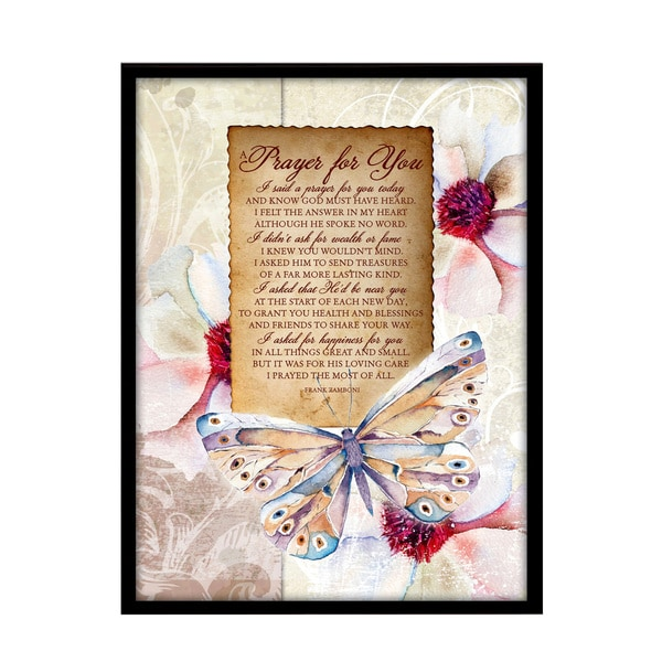 Dexsa A Prayer For You Plaque