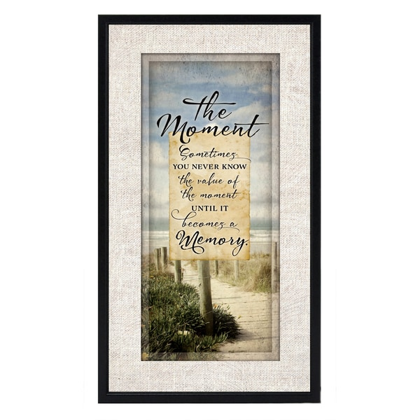 Dexsa The Moment Wood Plaque
