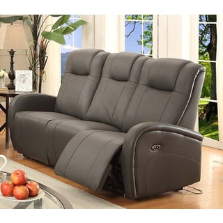 Easy Living Swiss Power Reclining Sofa with USB Port