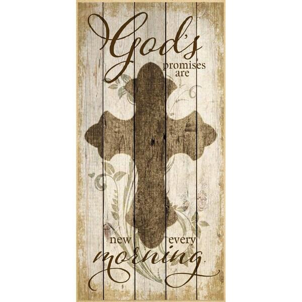 Dexsa God's Promises Wood Plaque