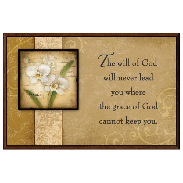 Dexsa The Will Of God Wood Plaque with Easel