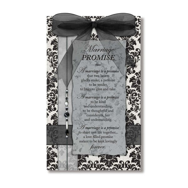 Dexsa Marriage Promise Wood Plaque