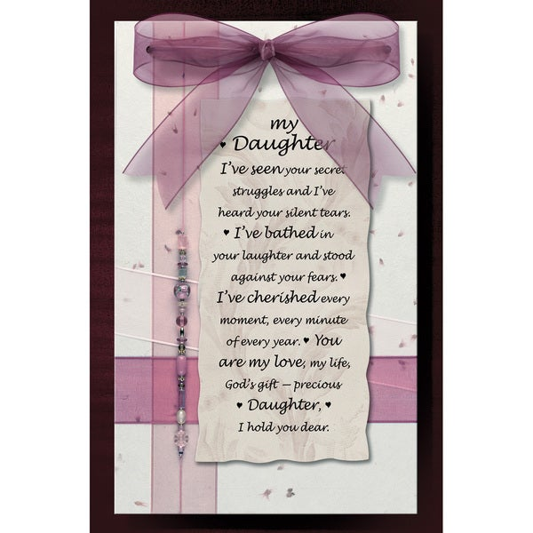 Dexsa My Daughter Wood Plaque