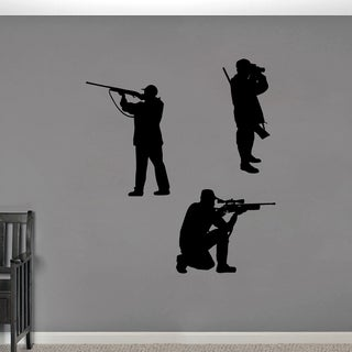 Hunter Large Wall Decal Set