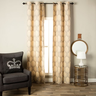 Andrew Charles Ogee Collection Damask Baroque Curtain Curtain Panel
