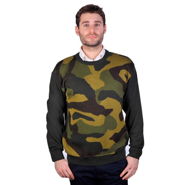 Cooper Men's Camo Knit Sweater