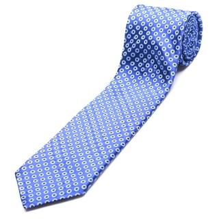 Ermenegildo Zegna Navy Silk Slim Necktie