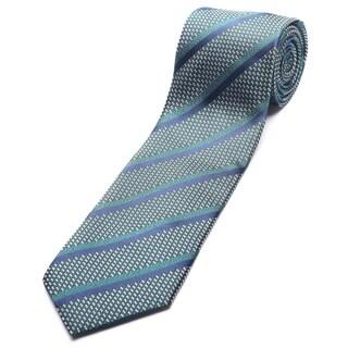 Ermenegildo Zegna Green Silk Slim Necktie