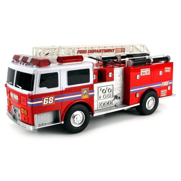 Super Express Fire Electric RC Truck RTR with Extending Crane