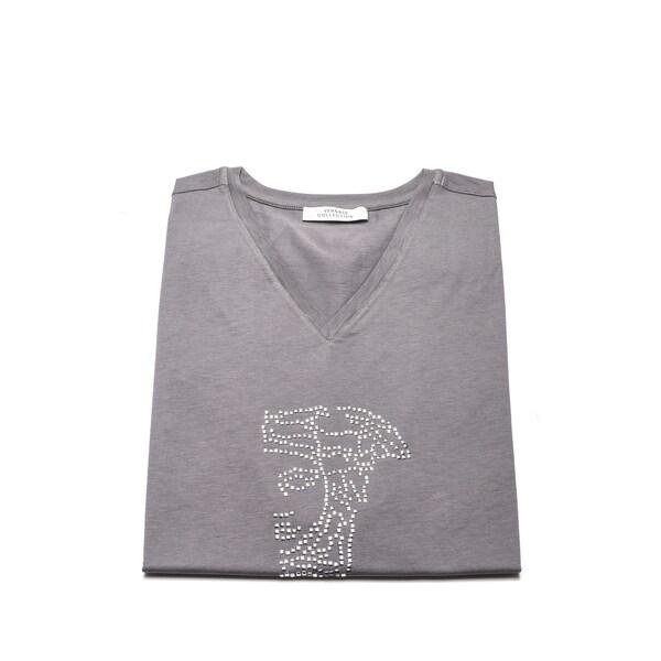 Versace Collection Men's Medusa Head V-neck T-shirt