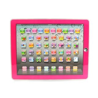 Y-Pad English Children's Toy Computer Tablet (Pink)