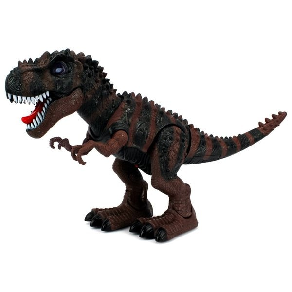 Dinosaur Century Tyrannosaurus Rex T-Rex Battery Operated Toy Dinosaur Figure (Colors May Vary)