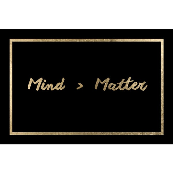 'Mind Matters' Modern Canvas Wall Art