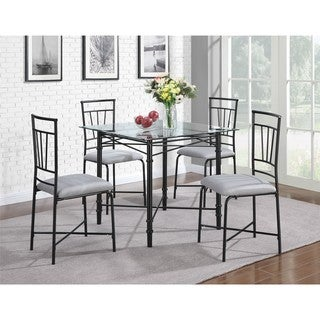 Dorel Living 5 piece Delphine Dining Set