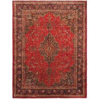 ecarpetgallery Persian Kashmar Red Wool Rug (9'5 x 13')